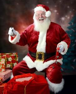 Santa by the Christmas Tree @ Lakeland | Florida | United States